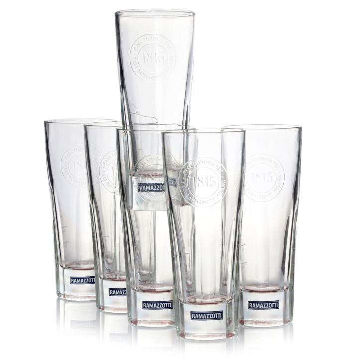 Ramazzotti Gläser 1815 Glas Longdrinkgläser Edition 6er Pack