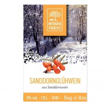 Sanddorn Glüh wein 9% vol. Sanddornglühwein 10 L Bag in Box