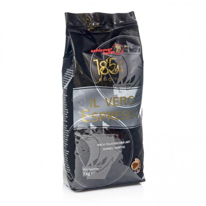 Schirmer Espresso IL Vero Espressobohnen, 8 x 1Kg ganze Kaffee-Bohne
