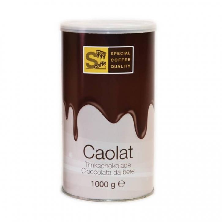 Caolat dunkle Trinkschokolade 1kg Dose Kakaopulver