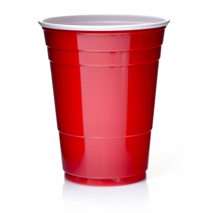 Solo Cups 16oz Rote Becher 50 Red Cup Original USA
