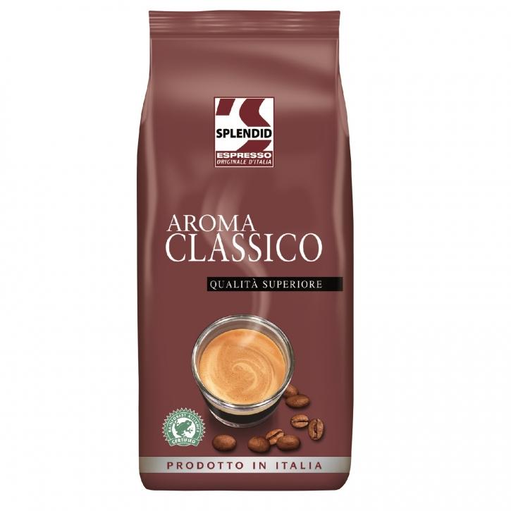 Splendid Aroma Classico 1Kg ganze Kaffee-Bohne