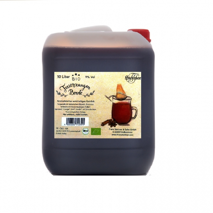 Feuerzangenbowle BIO 10 Liter Kanister 9% Vol