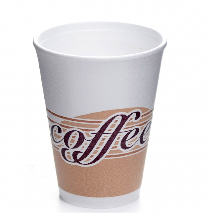 Styroporbecher 0,25l Coffee Note 25 Thermobecher