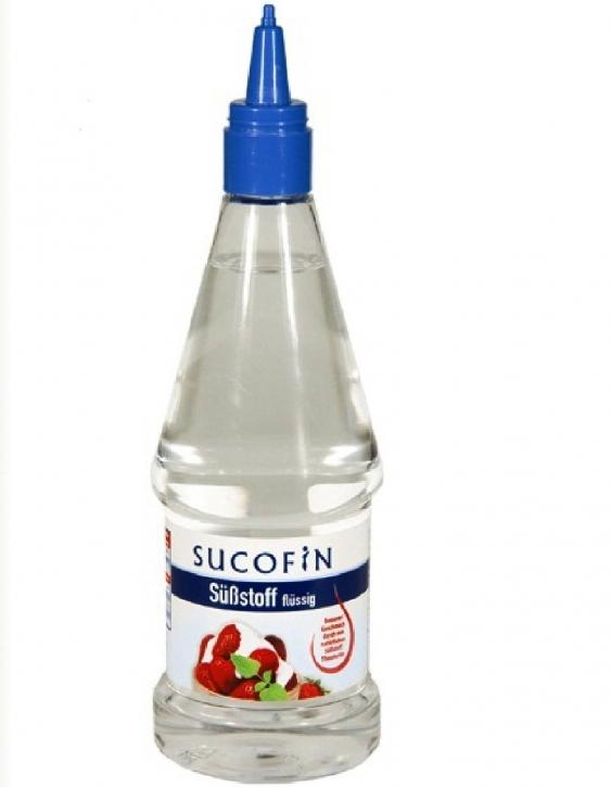 Sucofin Süßstoff Flüssigsüße mit Messbecher 300ml PET Flasche
