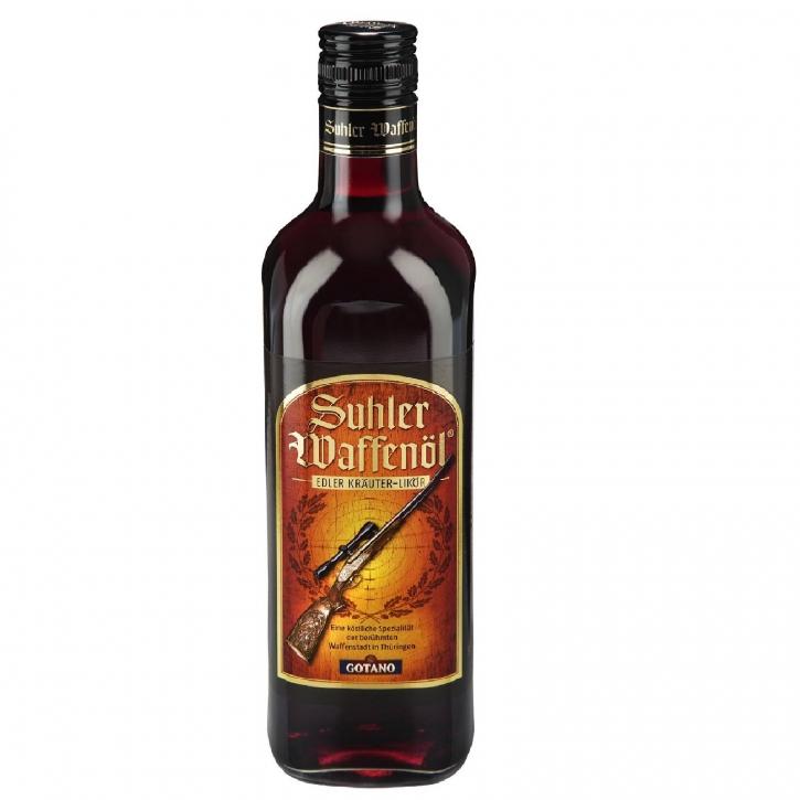 Suhler Waffenöl 0,7 l Spezialitäten Kräuterlikör 30%vol.