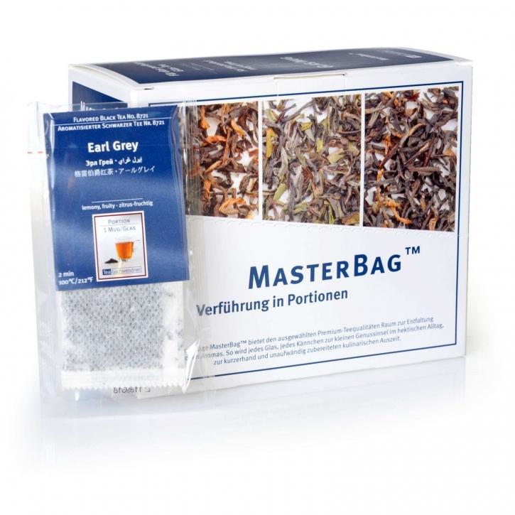 Earl Grey Schwarzer Tee 25 MasterBag Glasportion x 2,0g, 1er Pack