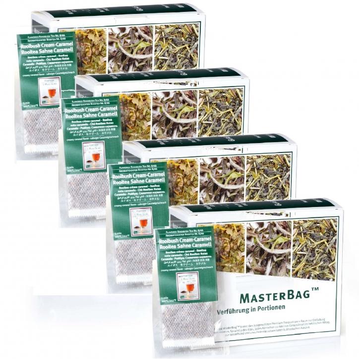 Rooibos Sahne Caramel 6 x 25 MasterBag 2,0g Rooitea
