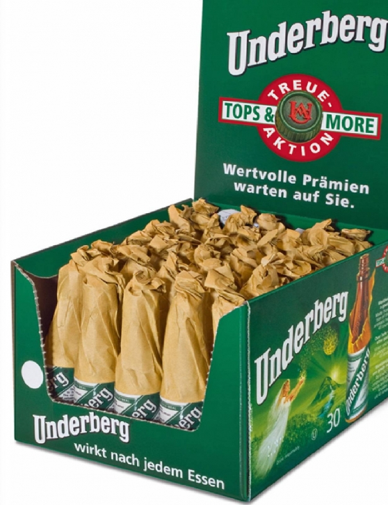 Underberg Kräuterlikör 30 Portionsflaschen 0,02l, 44% vol.