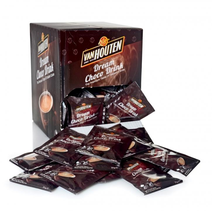Van Houten Schokoladen Drink 100 Portion Sachets 23g