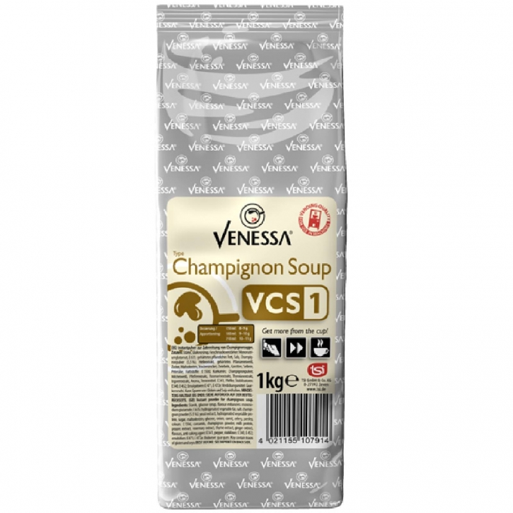 Venessa VCS 1 Champignon Soup Cremesuppe 10 x 1kg für Automaten