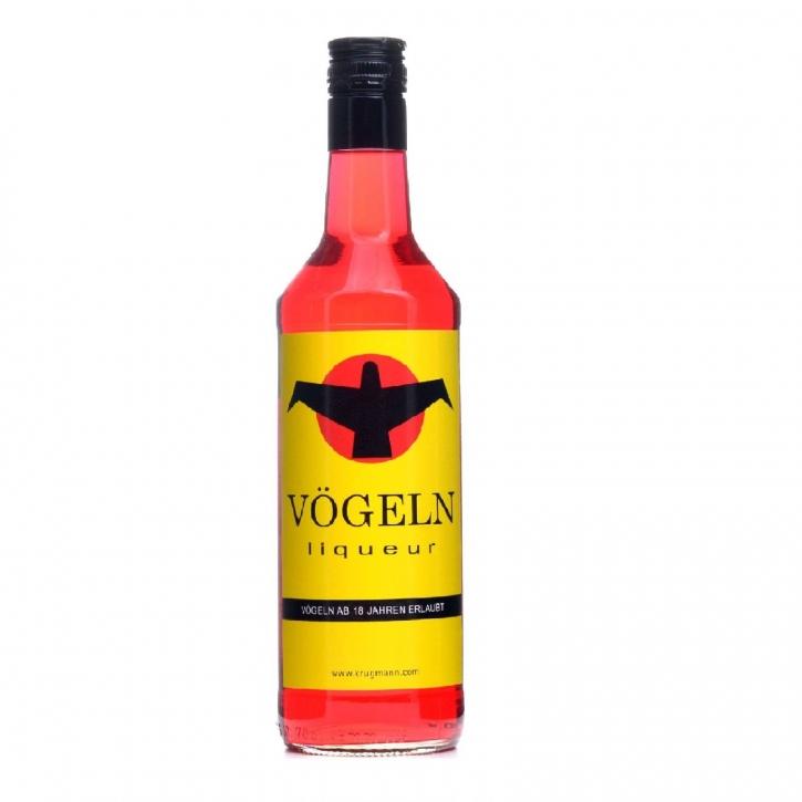 Vögeln Liqueur 0,7 l Himbeere - Grenadine Likör 16% vol