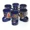 Glühweinstiefel Kobaltblau 0,2l Keramik 1 Glühwein Stiefel