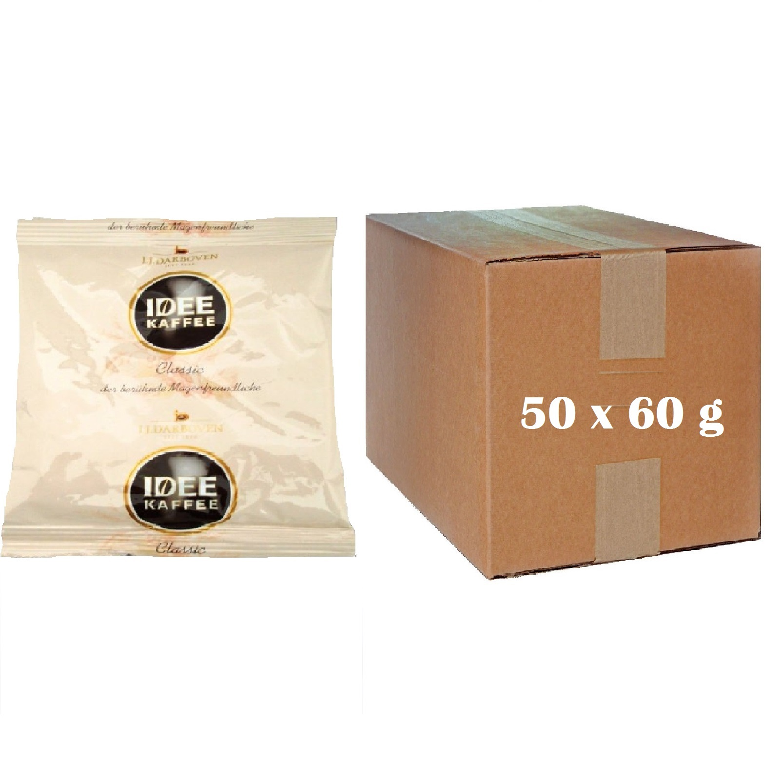idee kaffee classic pouch 50 x 60g von darboven 50 x 60 g. Black Bedroom Furniture Sets. Home Design Ideas