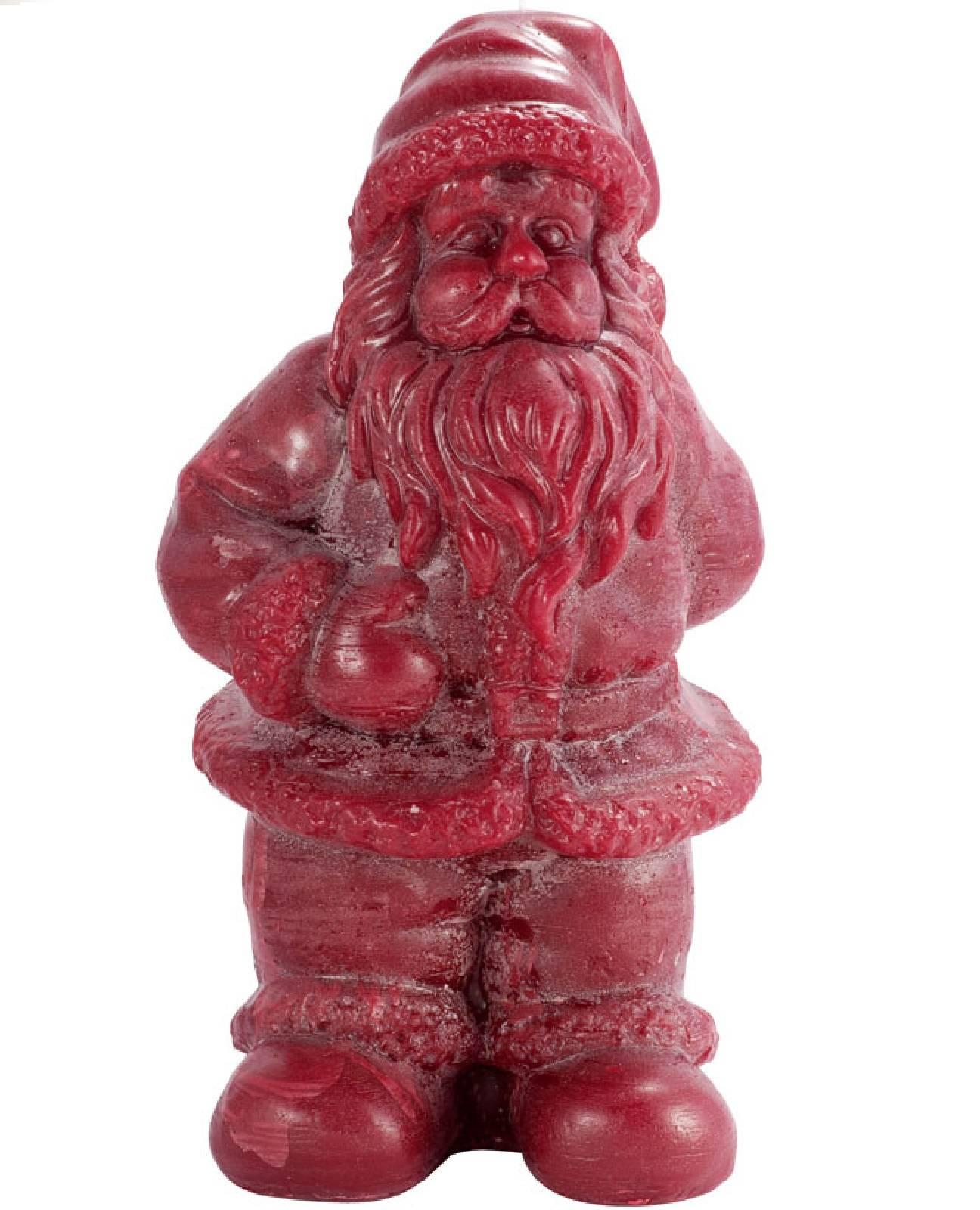 weihnachtliche kerzen extra gro weihnachtsmann rot 30 cm. Black Bedroom Furniture Sets. Home Design Ideas