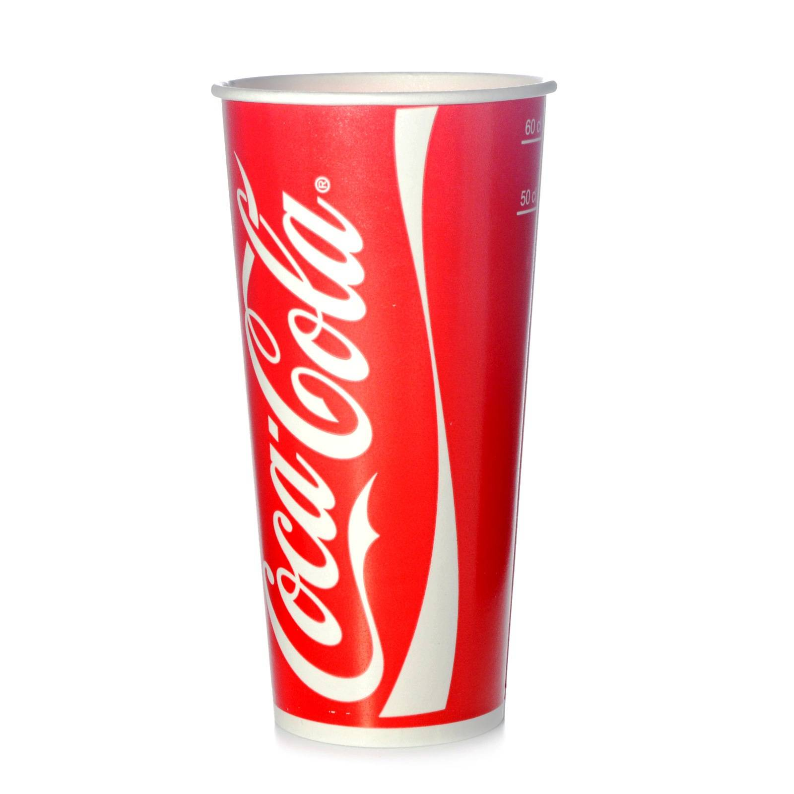 coca cola becher 0 5 l pappbecher trinkbecher 50 kaltgetr nkebecher 500 ml ebay. Black Bedroom Furniture Sets. Home Design Ideas