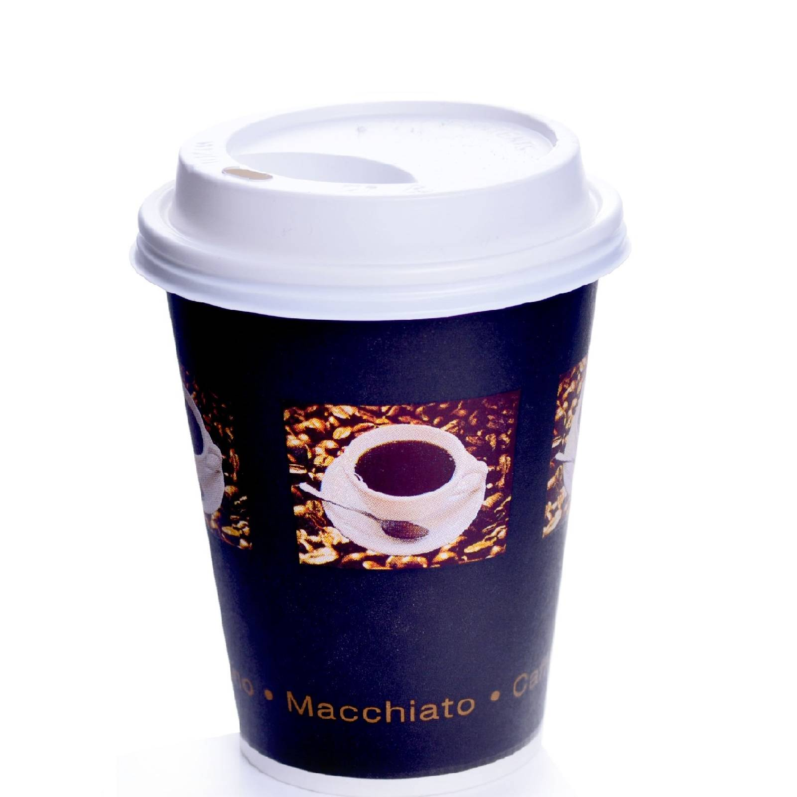 Coffee to go becher 24cl bean 0 2l mit deckel wei 200 stk for Coffee to go