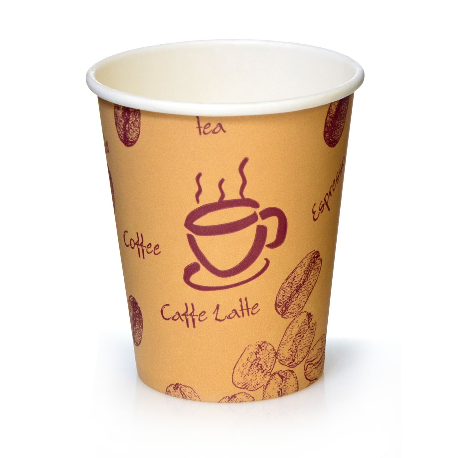 Coffee to go becher 0 2l pappbecher funny 1000 stk for Coffee to go