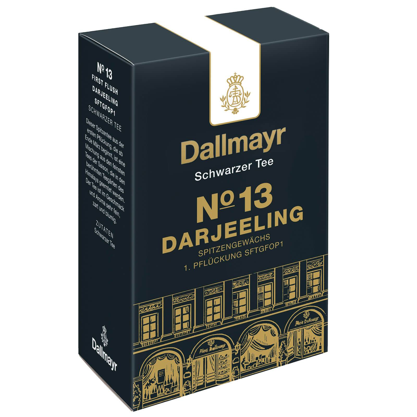 dallmayr no13 darjeeling loser schwarzer tee 100g 1 pfl ckung sftgfop1 ebay. Black Bedroom Furniture Sets. Home Design Ideas