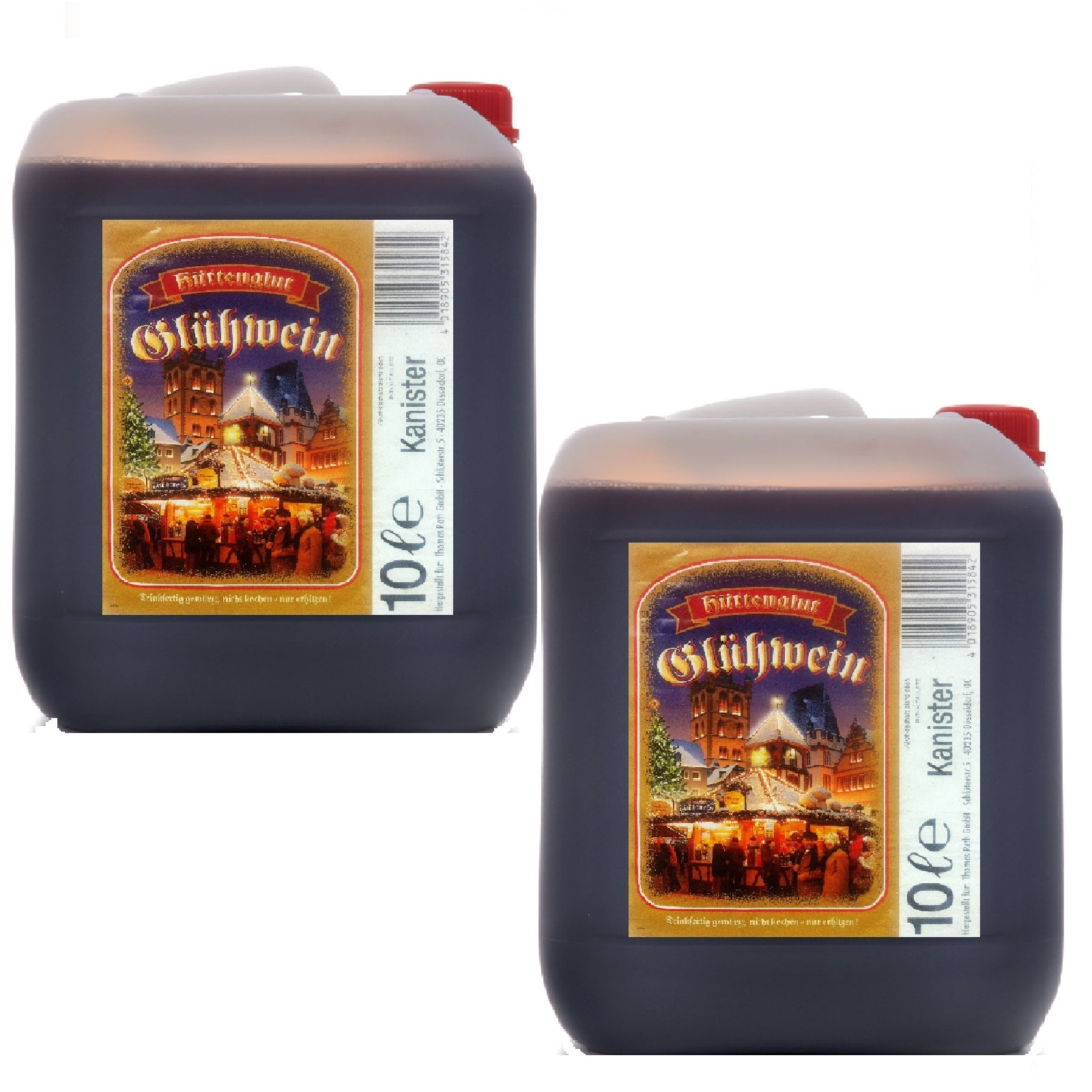 Glühwein 10 Liter Kanister