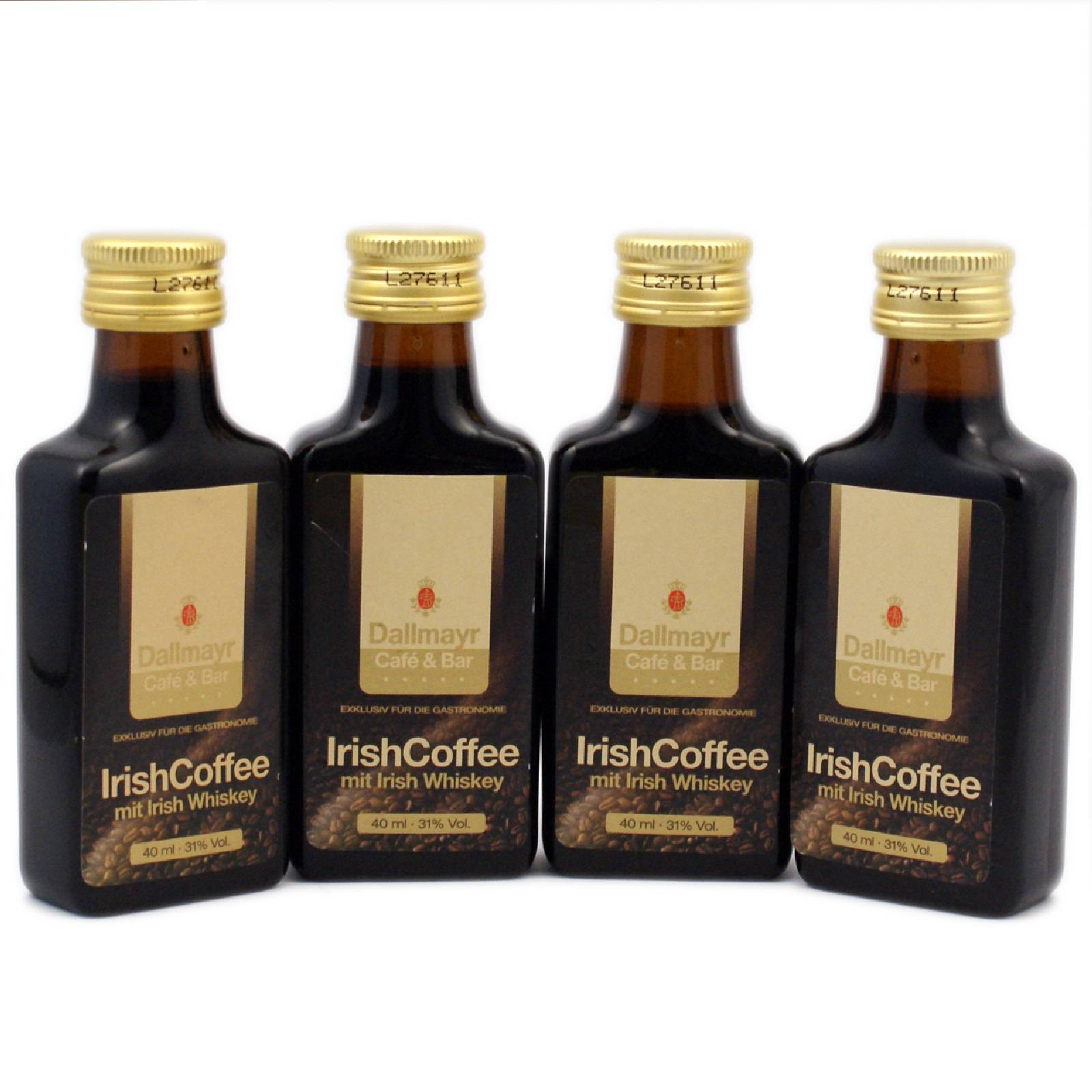 irish coffee 24 portons flaschen 40 ml irish whiskey alkohol 31 vol ebay. Black Bedroom Furniture Sets. Home Design Ideas