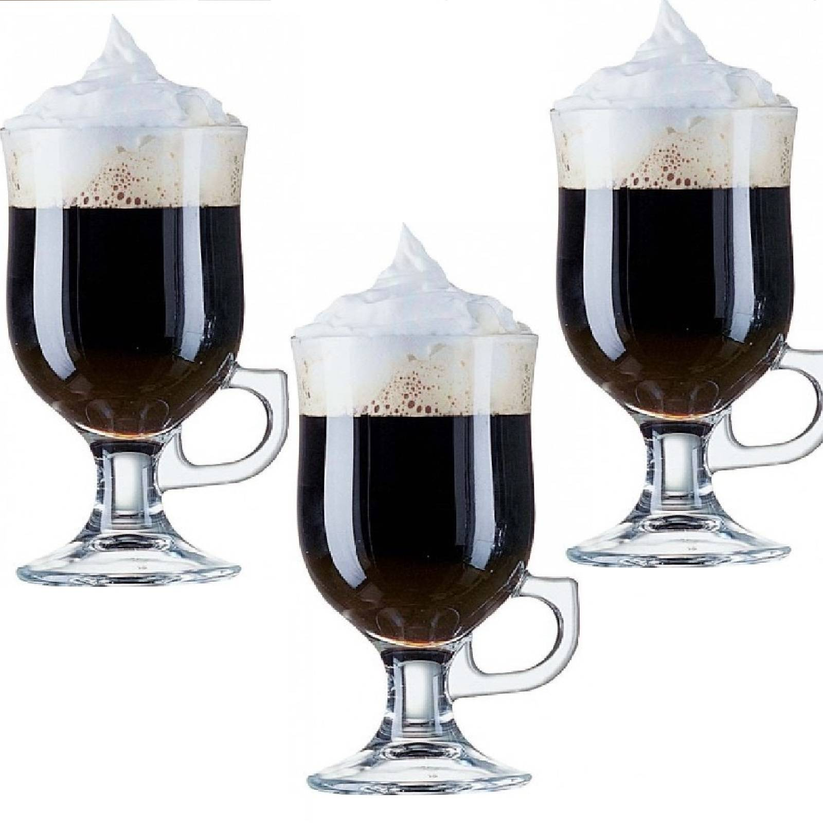 irish coffee glas mit henkel 24 cl grog gl hwein set 12 gl ser ebay. Black Bedroom Furniture Sets. Home Design Ideas