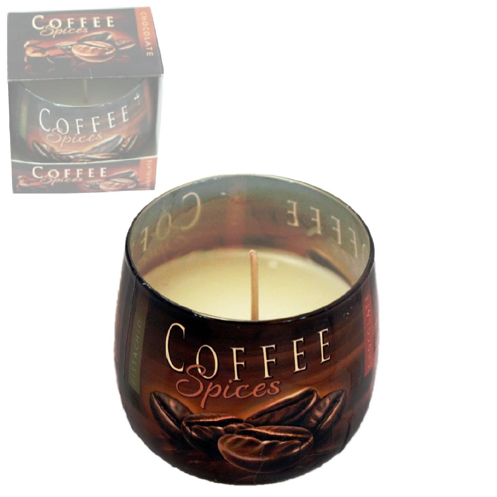 Häufig Coffee Windlicht in einem Dekorativen Kerzenglas mit Leuchtender OT56