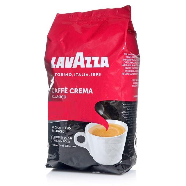 lavazza caff crema classico ganze kaffee bohnen 1kg jetzt mit 10 mehr im beutel. Black Bedroom Furniture Sets. Home Design Ideas