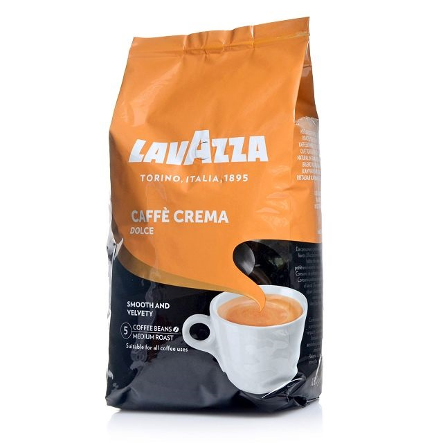 lavazza caffe crema dolce ganze bohne mild und samtig 1000 g. Black Bedroom Furniture Sets. Home Design Ideas