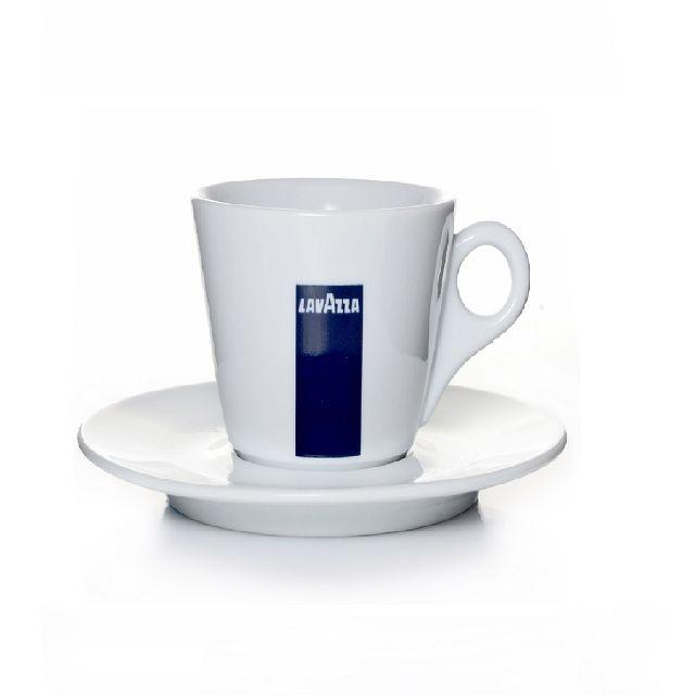 lavazza espressotassen 6 untertassen kaffeegeschirr blu collection. Black Bedroom Furniture Sets. Home Design Ideas
