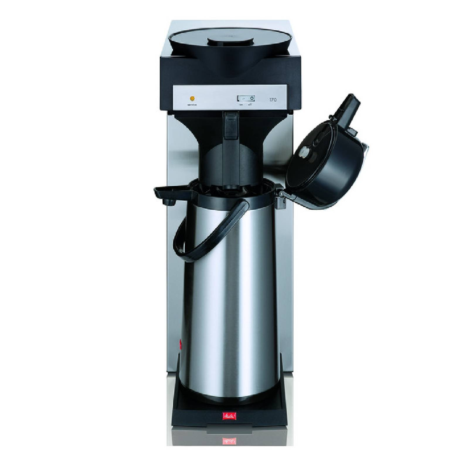 filter kaffeemaschine melitta m 170 mt inkl isolierkanne 2 2 liter ebay. Black Bedroom Furniture Sets. Home Design Ideas
