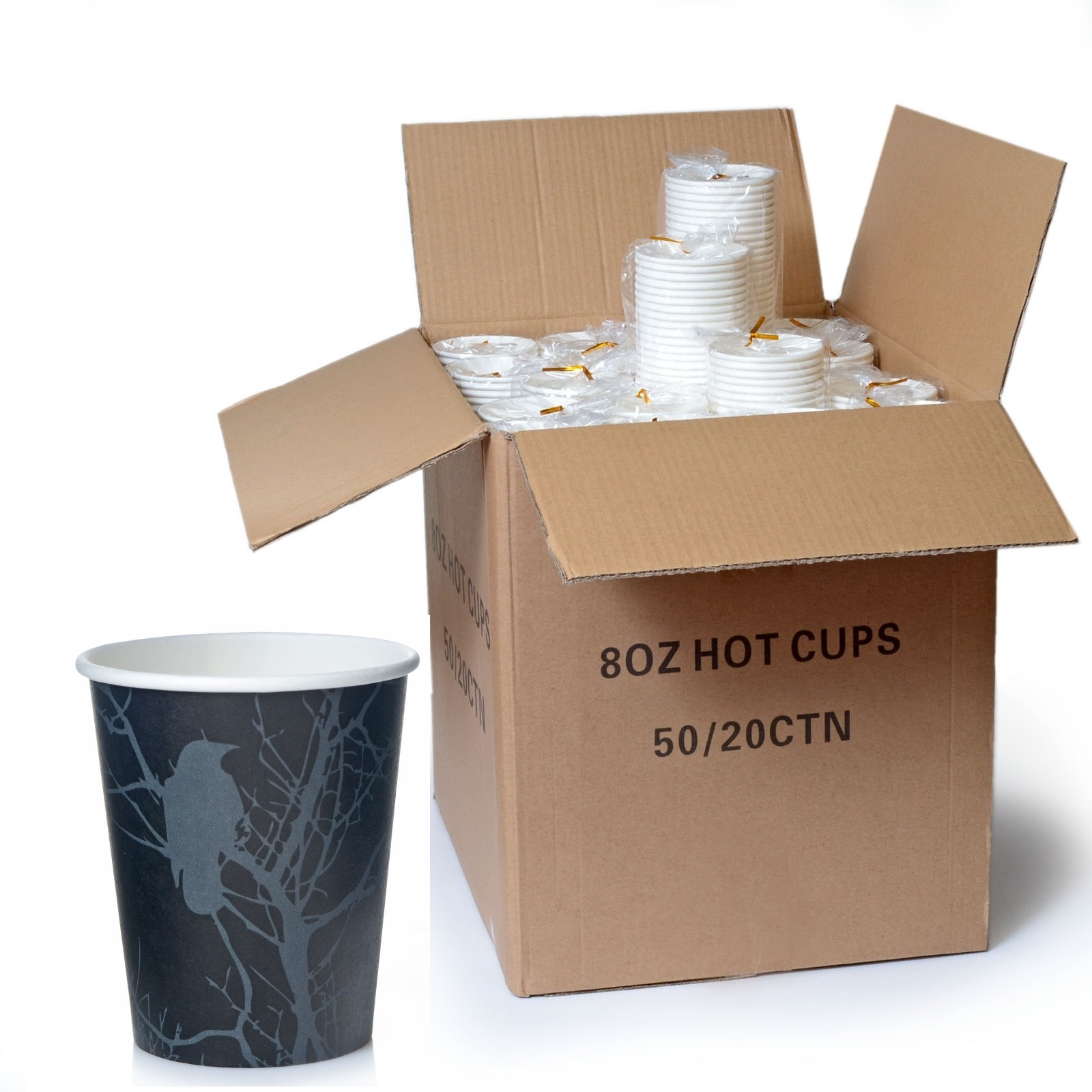coffee to go pappbecher 0 2 l amore 1000 stk 200ml 8oz ebay. Black Bedroom Furniture Sets. Home Design Ideas