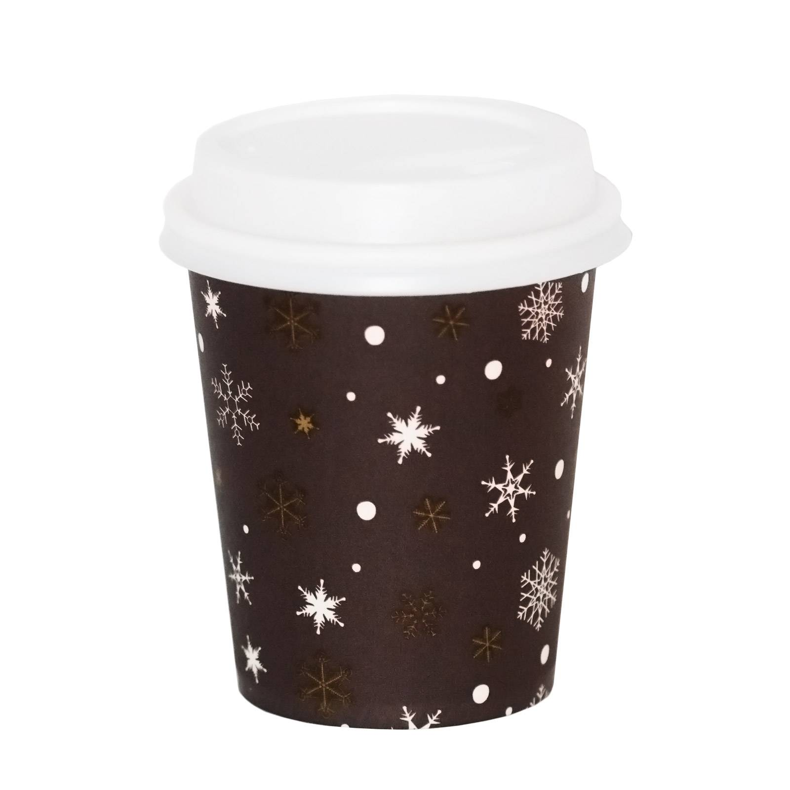coffee to go becher 0 2l kristall mit deckel weiss 200 stk. Black Bedroom Furniture Sets. Home Design Ideas