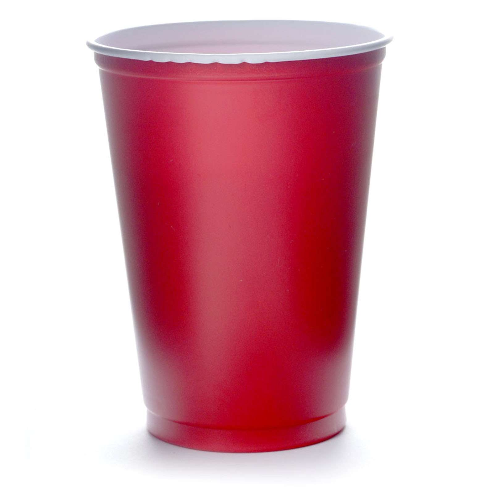 Solo Cups 16oz Rote Becher 473 ml Red Cup Original USA 100 Trinkbecher