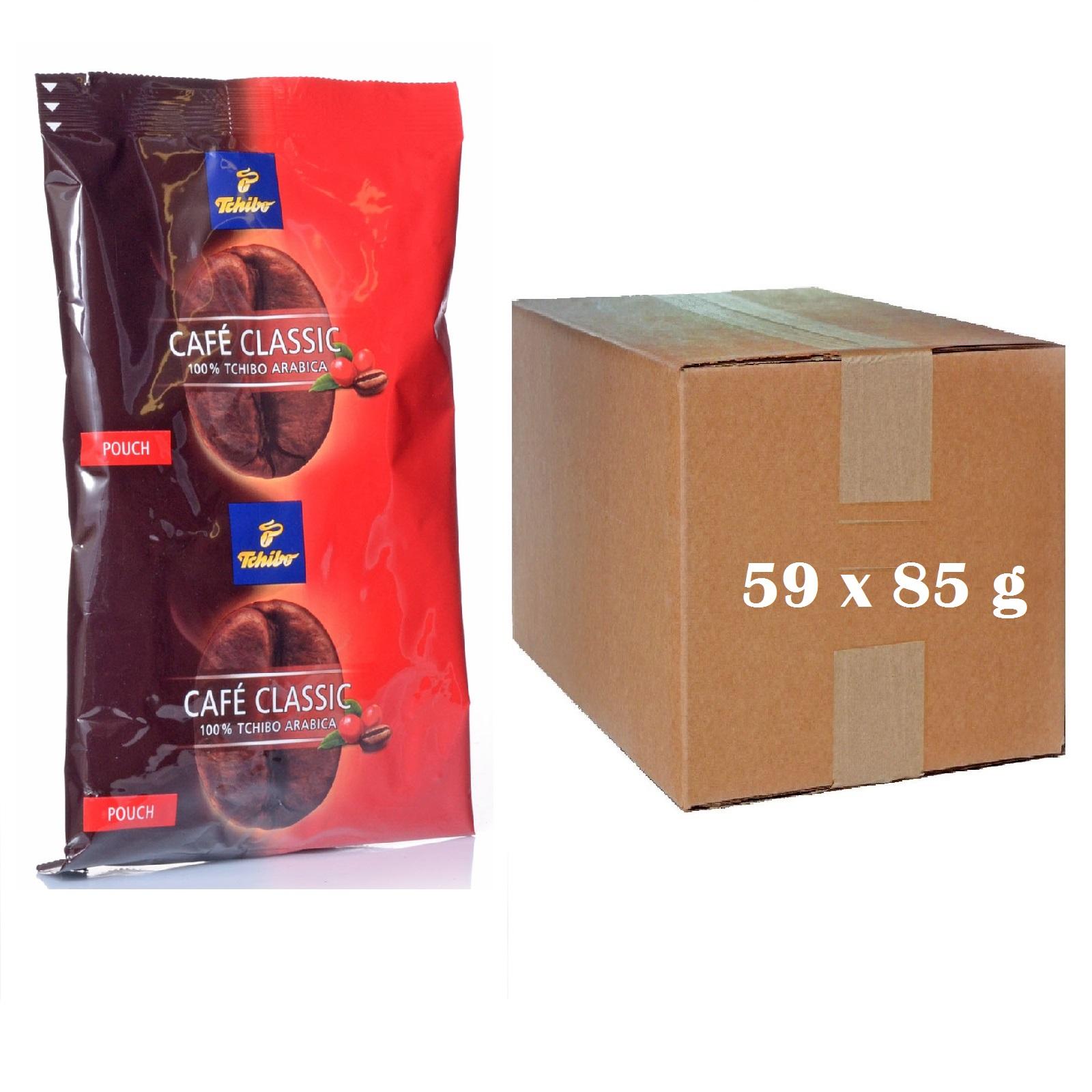 caf classic mild 59 x 85g pouch kaffee gemahlen tchibo ebay. Black Bedroom Furniture Sets. Home Design Ideas
