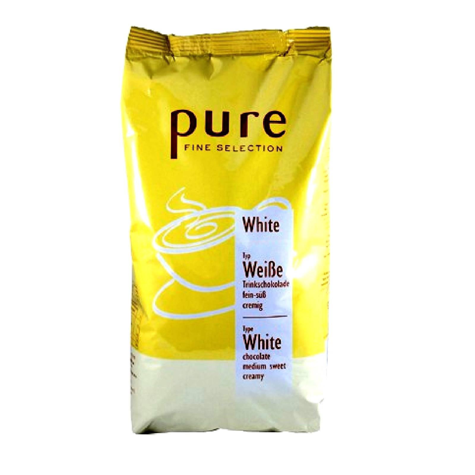 tchibo pure fine selection kakao white 1kg wei e trinkschokolade ebay. Black Bedroom Furniture Sets. Home Design Ideas