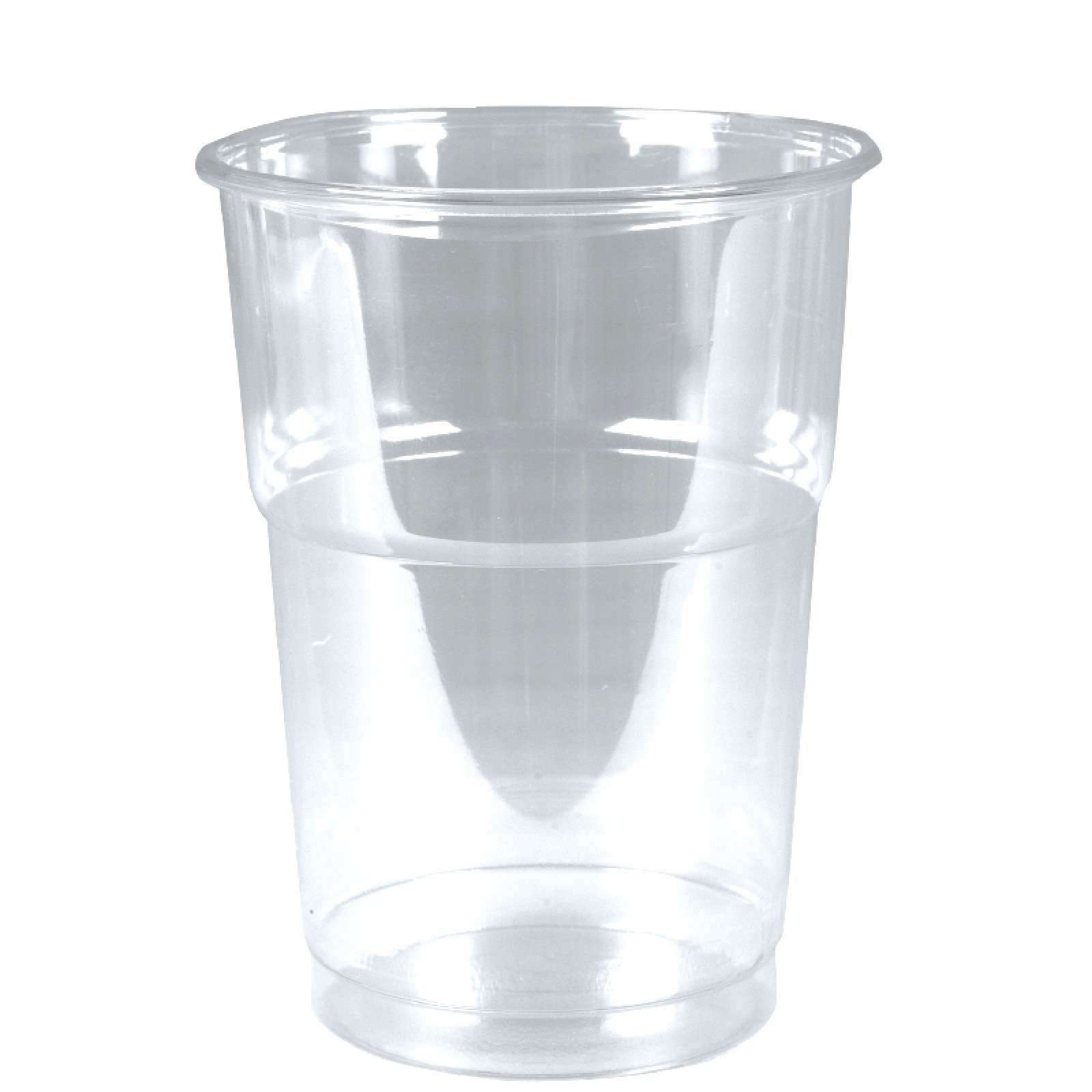 Clear cups trinkbecher pet 0 25l glasklar plastikbecher 50 for Pool plastik
