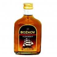 Bozkov Tuzemsky Rum 37,5% Vol. 0,2l Flachmann