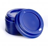 Deckel für Hartpapierbecher Ø90 mm, 100 blau 0,3l/0,4l