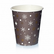 Coffee to go Becher 24cl Pappbecher Design Kristalle 50 Stk