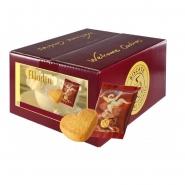Biscate Aladin Buttergebäck Herzen Karton 150 Kekse x 8 g