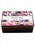 Kaffeedose Vorratsbehälter Metall 20 x 13 x 6,7 cm Neu