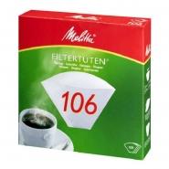 Melitta Filterpapier Pa 106G Kaffeefilter 100 Filtertüten