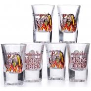 Ostfriesischer Moorgeist Glas 2 cl Stamper