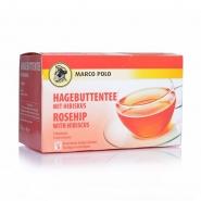 Marco Polo Hagebuttentee / Hibiskus Tee Kuvertiert 20 x 2g