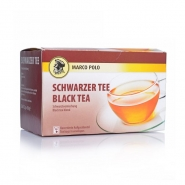 Marco Polo Schwarzer Tee kuvertiert 20 x 1,5g