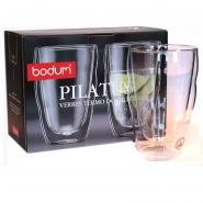 Bodum 2 Doppelwandige Thermo - Gläser Pilatus 12oz