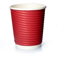 Ripple Cups Rot 8oz Doppelwand 50 Coffee to go Becher