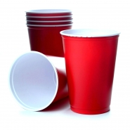 50 Solo Cups 10oz Rote Becher Red Cup Original USA