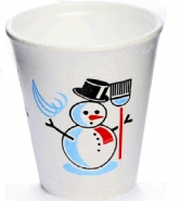 Styroporbecher - Snowman 1000 EPS Becher 0,2